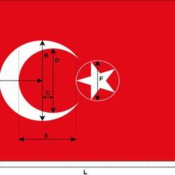 Türk Bayrağının Ölçüleri Nelerdir?